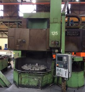 CNC Single-Column Vertical Lathe SCHIESS-FRORIEP 16 DS 125