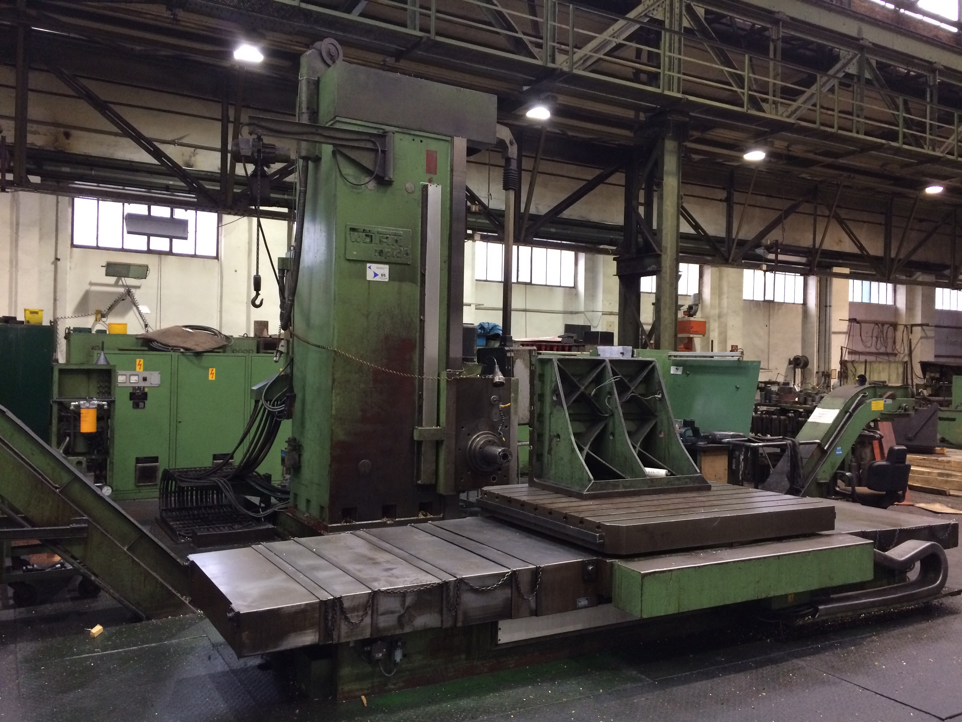 CNC Plattenbohrwerk, Fabr. WOTAN, Typ Rapid 3