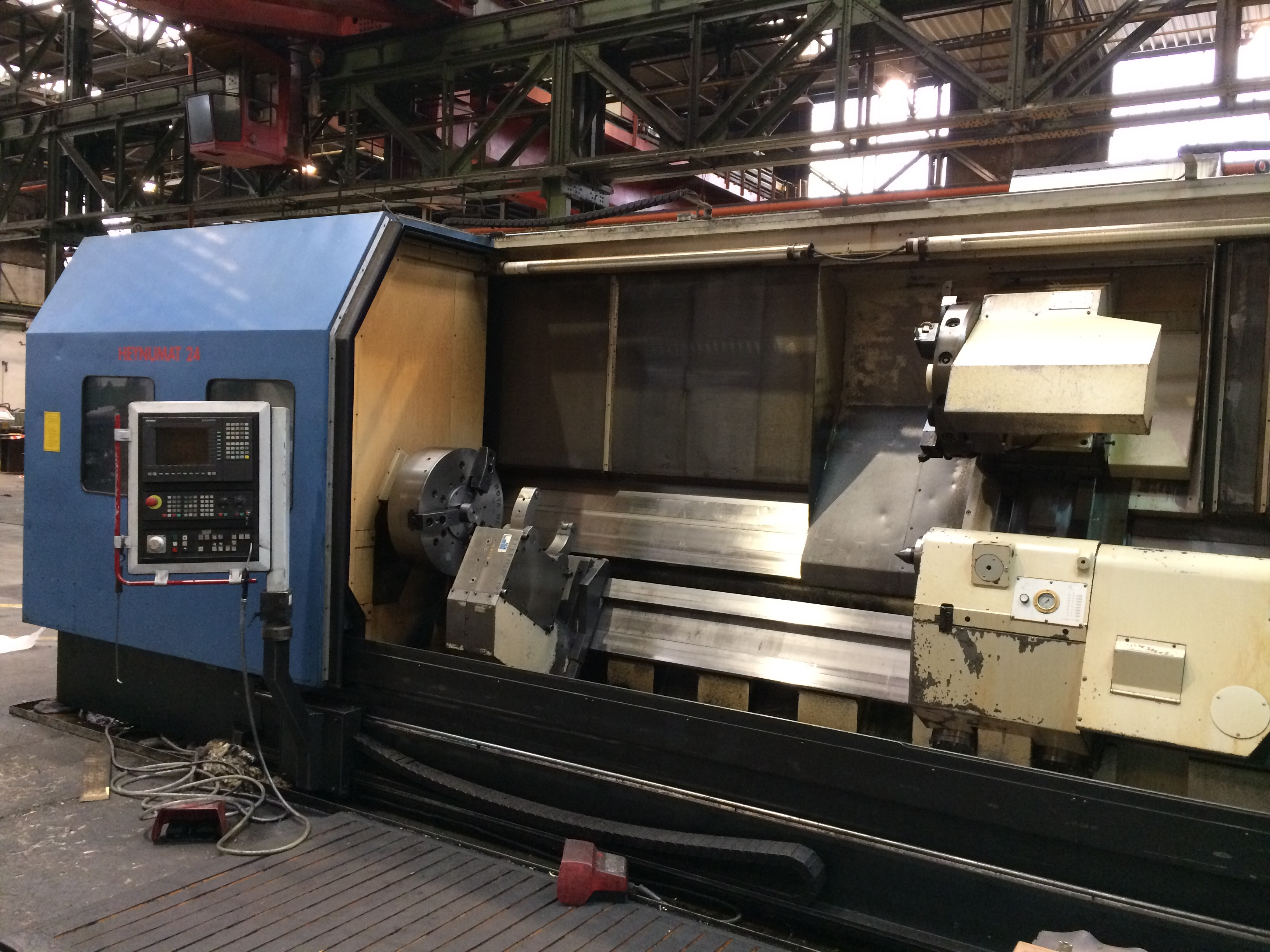 1 CNC-Drehmaschine 40211, Fabr. HEYLIGENSTAEDT, Typ 25 UK-4000