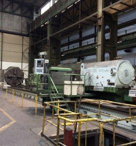 1 CNC Schwerdrehmaschine, Fabr. WAGNER, Typ D 1500-15 IV-100