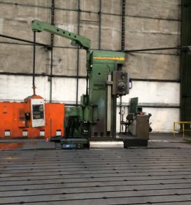 CNC Table boring machine WOTAN Rapid 2K