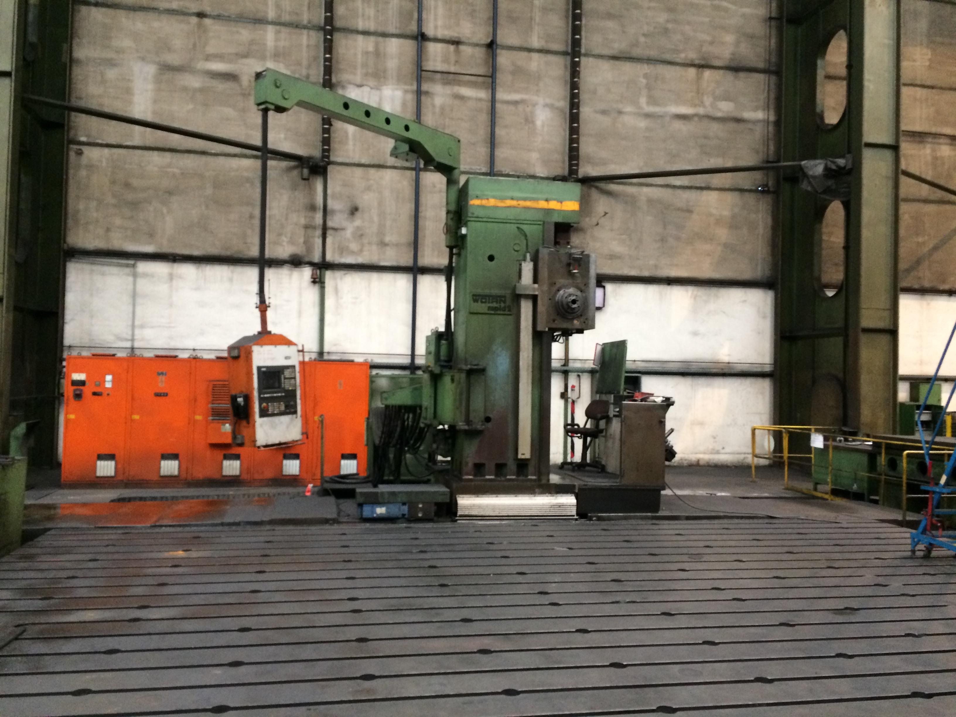 1 CNC Plattenbohrwerk, Fabr. WOTAN, Typ Rapid 2K