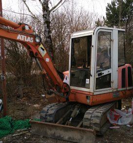 Mini Excavator ATLAS