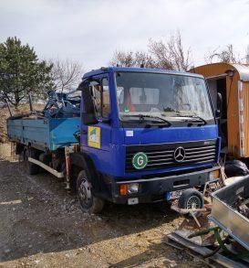 MERCEDES-BENZ truck, Type 814L, manufactured in 1997