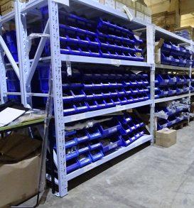 111: Cross-member shelving system