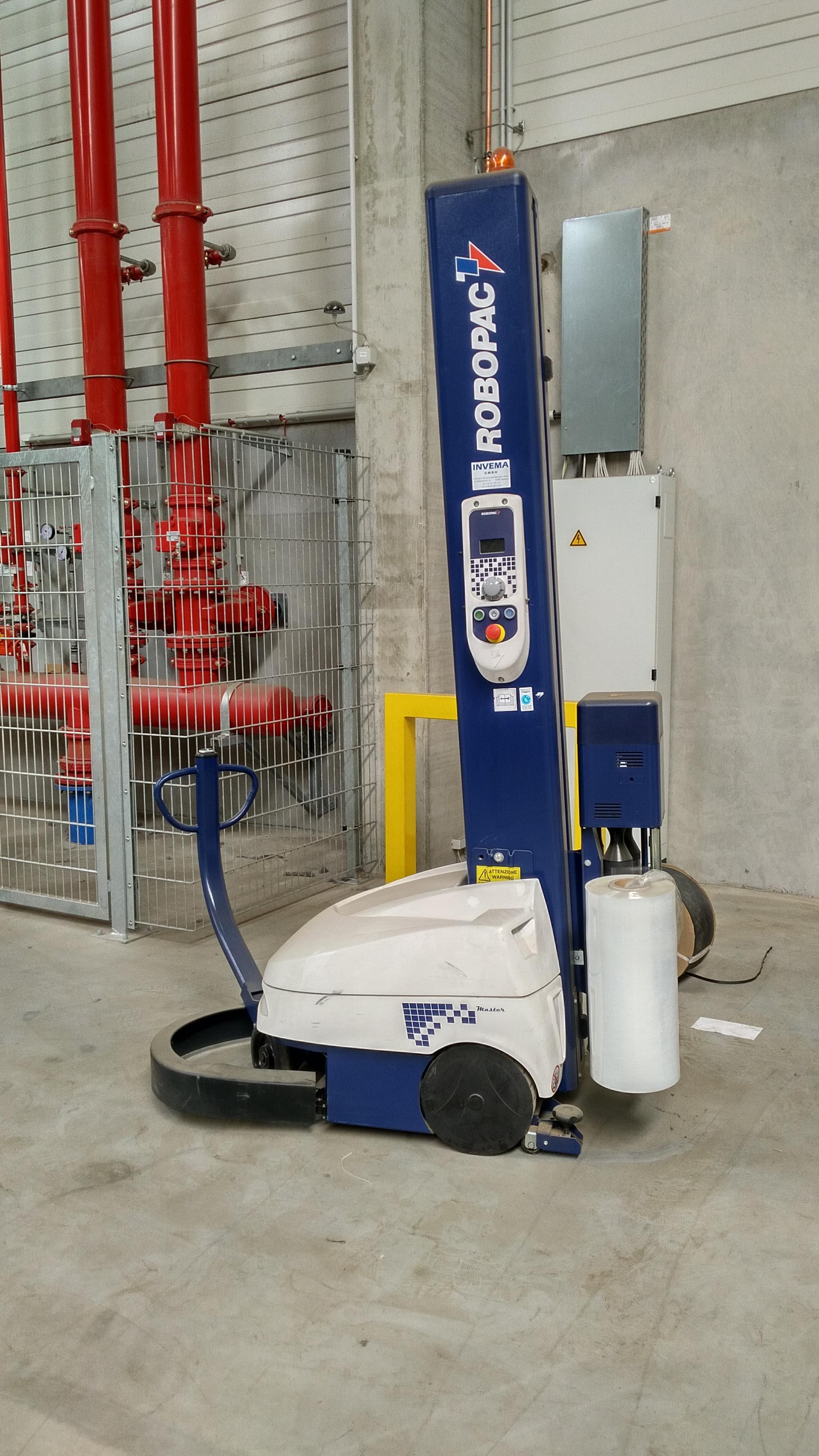 Palettenstretcher selbtfahrend Fabr. Robopak, Typ Typ Robot Master (M110 PDS), Bj. 2014
