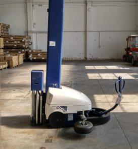 Palettenstretcher selbtfahrend, Fabr. ROBOPAC, Typ Robot Master (M110 PDS), Bj. 2014