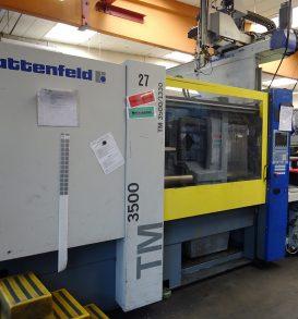 Kunststoffspritzgießmaschine, Fabr. Battenfeld, Typ TM 3500/1330, Bj. 2001