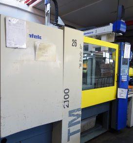 Kunststoffspritzgießmaschine, Fabr. Battenfeld, Typ TM 1600/750, Bj. 2002
